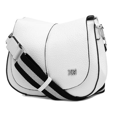 white cross body bag